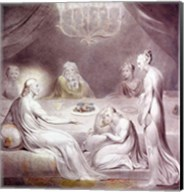 Christ in the House of Martha and Mary or The Penitent Magdalen Fine-Art Print