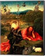 St. John the Baptist in Meditation Fine-Art Print