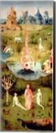 The Garden of Earthly Delights: The Garden of Eden Fine-Art Print