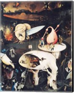 The Garden of Earthly Delights: Hell, triptych right Fine-Art Print