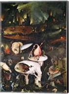 The Garden of Earthly Delights, Hell, right wing of triptych, c.1500 Fine-Art Print