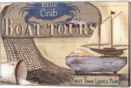 Blue Crab Boat Tours Fine-Art Print