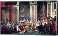 The Consecration of the Emperor Napoleon II Fine-Art Print