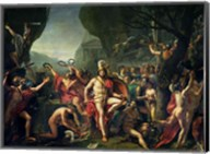 Leonidas at Thermopylae, 480 BC, 1814 Fine-Art Print