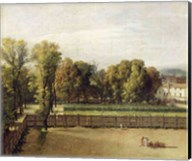 View of the Luxembourg Gardens in Paris, 1794 Fine-Art Print
