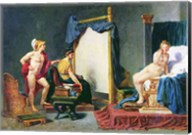 Apelles Painting Campaspe in the Presence of Alexander the Great Fine-Art Print