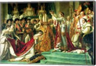 The Consecration of the Emperor Napoleon and the Coronation of the Empress Josephine Fine-Art Print