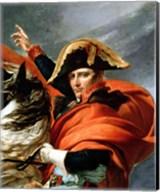 Napoleon Crossing the Alps, detail Fine-Art Print