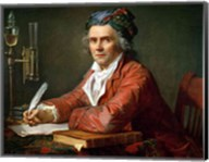 Portrait of Alphonse Leroy, 1783 Fine-Art Print
