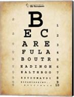 Mark Twain Eye Chart Fine-Art Print