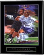 Challenge - Soccer Fine-Art Print