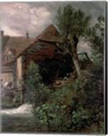 Watermill at Gillingham, Dorset Fine-Art Print