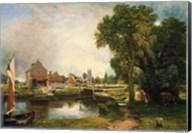 Dedham Lock and Mill, 1820 Fine-Art Print