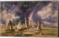 Stonehenge, 1835 Fine-Art Print