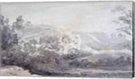 A View in Derbyshire Fine-Art Print