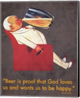 Beer Is Proof Fine-Art Print
