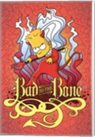 Simpsons - Bad to the Bone Wall Poster