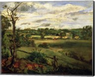 View of Highgate from Hampstead Heath, c.1834 Fine-Art Print
