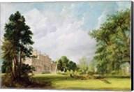 Malvern Hall, Warwickshire, 1821 Fine-Art Print