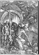 The descent of Christ into Limbo, from 'The Great Passion' Fine-Art Print