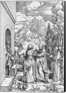 The Visitation, from the 'Life of the Virgin' series, c.1503 Fine-Art Print