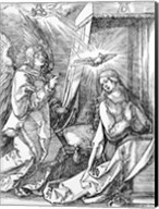 The Annunciation from the 'Small Passion' series, 1511 Fine-Art Print