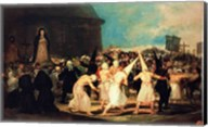 Procession of Flagellants, 1815-19 Fine-Art Print