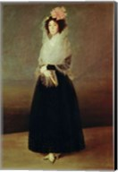Portrait of the Countess of Carpio Marquesa de la Solana, c.1793 Fine-Art Print