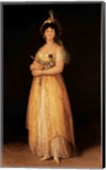 Portrait of Queen Maria Luisa Fine-Art Print