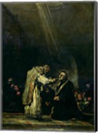 The Last Communion of St. Joseph Calasanz Fine-Art Print