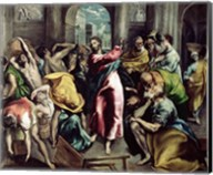 Christ Driving the Traders from the Temple, c.1600 Fine-Art Print