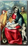 The Holy Family with St.Elizabeth Fine-Art Print