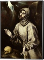 St. Francis of Assisi Receiving the Stigmata Fine-Art Print