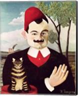 Portrait of Pierre Loti Fine-Art Print
