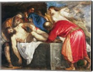 The Entombment of Christ, 1559 Fine-Art Print