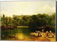 Windsor Castle from the Thames Fine-Art Print
