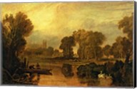 Eton College from the River Fine-Art Print