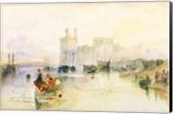 View of Carnarvon Castle Fine-Art Print