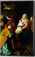 Adoration of the Kings, 1619 Fine-Art Print