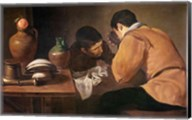 Two Men at Table Fine-Art Print