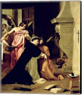 Temptation of St.Thomas Aquinas Fine-Art Print