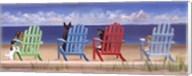 Rainbow Chair Tails Fine-Art Print
