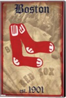 Red Sox - Retro Logo 11 Wall Poster