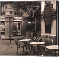 Café, Montmartre Fine-Art Print