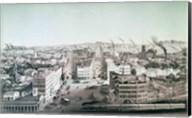 View of Utica City, New York State Fine-Art Print