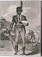 Portrait of Francois Dominique Toussaint-Louverture Fine-Art Print