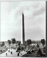 The Washington Monument and Surroundings, North View Fine-Art Print