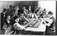 A Faro Game at El Paso Fine-Art Print