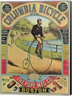 Advertisement for the Columbia Bicycle Fine-Art Print