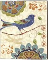Eastern Tales Birds I Fine-Art Print